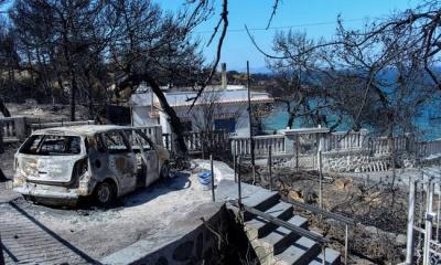 Ξεπέρασαν τις 4.000 οι αιτήσεις για την καταβολή επιδόματος στους πυρόπληκτους της Αττικής
