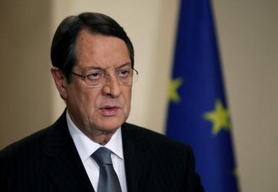 Αναστασιάδης (Κύπρος): Στην Τουρκία εναπόκειται η διαμόρφωση αμοιβαία επωφελούς σχέσης
