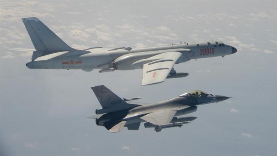 H Κίνα διεξάγει στρατιωτικά γυμνάσια κοντά στα Στενά της Ταϊβάν