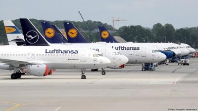 H Lufthansa καταγράφει ζημίες 1 εκατ. ευρώ ανά δύο ώρες – Και το θεωρεί «βελτίωση»