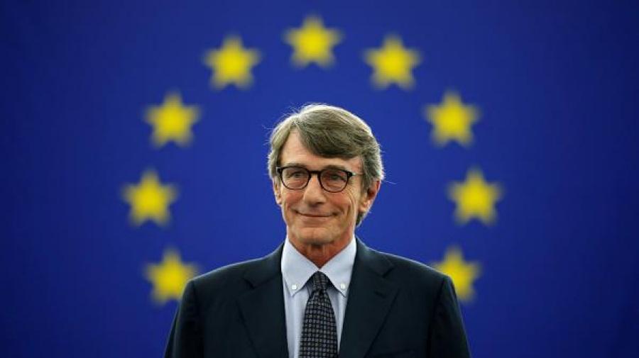 Sassoli (Ευρωκοινοβούλιο): Η παρούσα κρίση να οδηγήσει σε μια πιο αποτελεσματική και δημοκρατική Ευρώπη