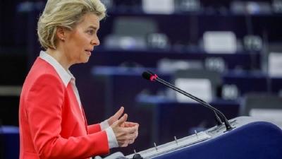 Von der Leyen (ΕΕ): Έως τις 27 Ιουνίου 2021 το 60% του ενήλικου πληθυσμού θα έχει λάβει τουλάχιστον μία δόση του εμβολίου