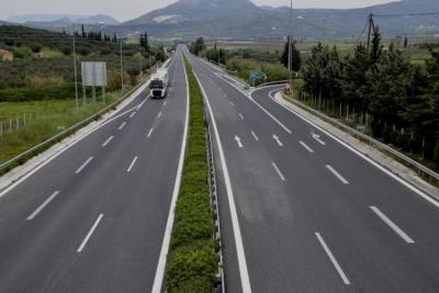 Κανονικά η κίνηση των οχημάτων στον αυτοκινητόδρομο Κόρινθος – Τρίπολη – Καλαμάτα