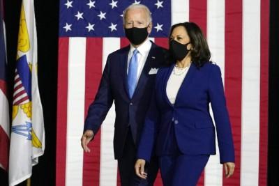Biden και Harris ετοιμάζονται για τον Λευκό Οίκο - «Βλέπουν» νίκη στις εκλογές με ξεκάθαρη πλειοψηφία