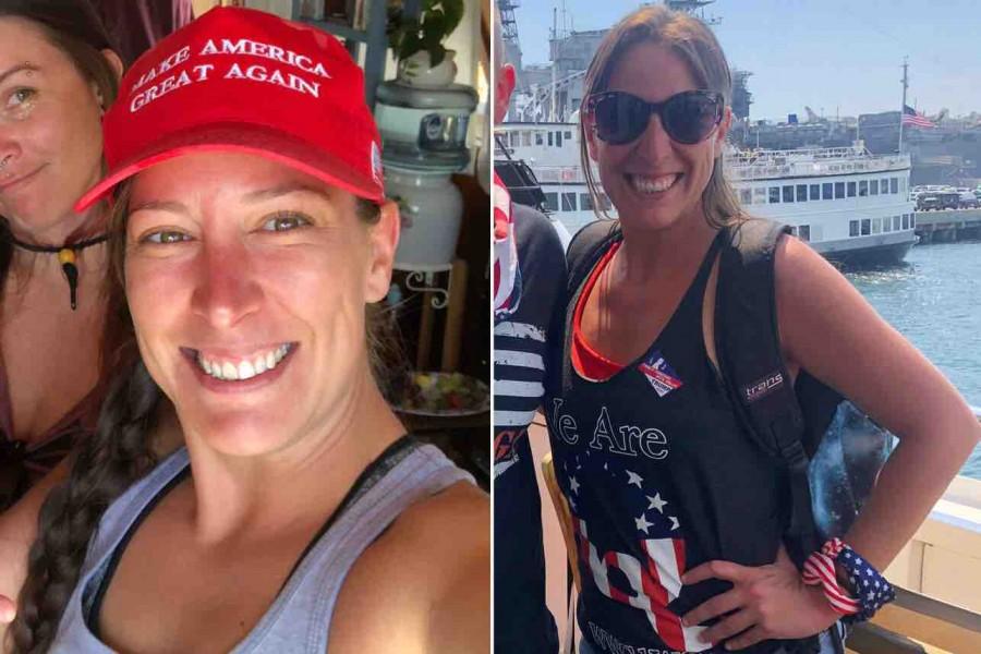 Ashli Babbit - Η βετεράνος της Πολεμικής Αεροπορίας και υποστηρίκτρια του Trump που έπεσε νεκρή στο Καπιτώλιο