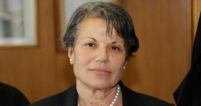 Την πρώην εισαγγελέα Αρείου Πάγου Ευτέρπη Γκουτζαμάνη προτείνει η κυβέρνηση για αντιπρόεδρο ΕΣΡ