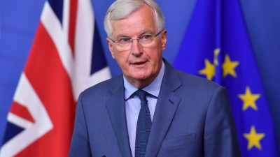 Barnier (ΕΕ): Διαφωνούμε σε θέματα μείζονος σημασία με το Ηνωμένο Βασίλειο