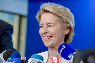 Von der Leyen (Κομισιόν): Υπέρ έρευνας για την προέλευση του κορωνοϊού - Nα συμμετέχει και η Κίνα