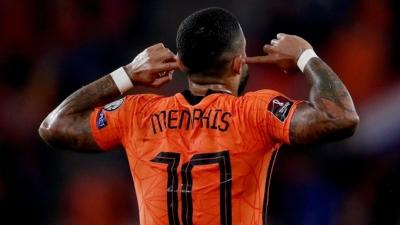 Ολλανδία – Τουρκία 3-0: Γκολ από την άσπρη βούλα για τον Ντεπάι! (video)