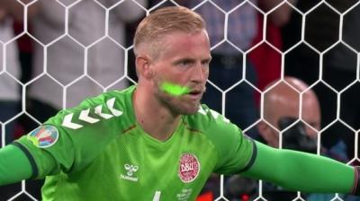 EURO 2020: «Πρόστιμο στην Αγγλία από την UEFA εξ αιτίας του λέιζερ στον Σμάιχελ»