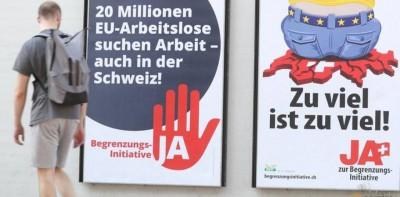 Οι Ελβετοί είπαν συνστριπτικά «όχι» στην απαγόρευση της ελεύθερης διακίνησης πολιτών με την ΕΕ