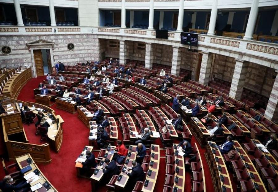 Βουλή: Νόμος του κράτους η σύμβαση για τους πόρους του Ταμείου Ανάκαμψης