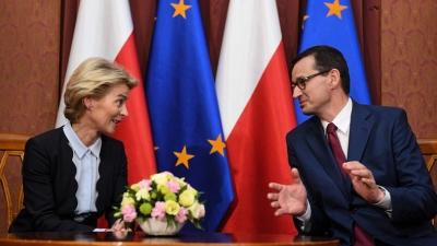 Πολωνία: Στα άκρα η σύγκρουση με την ΕΕ - Προειδοποιήσεις και εκβιασμοί