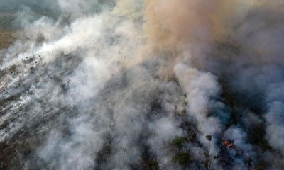 Στη μάχη με τις φλόγες στον Αμαζόνιο ρίχτηκε και η πολεμική αεροπορία της Βραζιλίας
