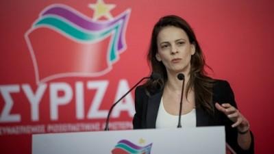 Αχτσιόγλου (ΣΥΡΙΖΑ): Το αφήγημα του κ. Μητσοτάκη για την οικονομία έχει καταρρεύσει