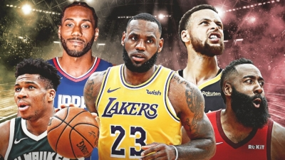 NBA: Πιο ακριβοπληρωμένος παίκτης ο ΛεΜπρόν – Στην τέταρτη θέση ο Αντετοκούνμπο!