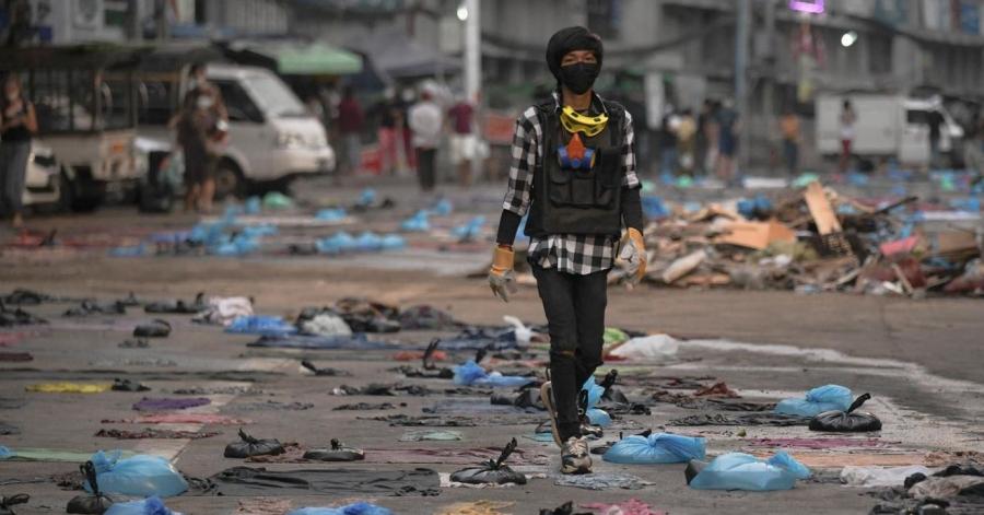 Λουτρό αίματος με 38 νεκρούς στη Μιανμάρ – Ο ΟΗΕ καταδικάζει τη βάρβαρη καταστολή