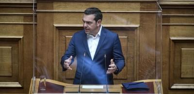 Τσίπρας: Καταθέτουμε σχέδιο για την οικονομική ανάκαμψη - Ανίκανη, ανεύθυνη και κυνική η κυβέρνηση - Έθεσε το ΣΥΡΙΖΑ σε κυβερνητική ετοιμότητα