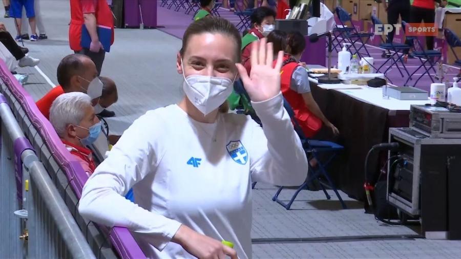 Κορακάκη: «Εξαιτίας του covid είχα να κάνω τελικό στο 10αρι δύο χρόνια» (video)
