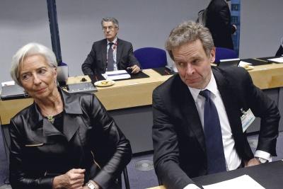 Lagarde, Τhomsen υπαναχωρούν για τις συντάξεις - «Ζήτημα Ελλάδας - ΕΕ ο δημοσιονομικός χώρος, να ξοδευτεί προς όφελος της κοινωνίας»