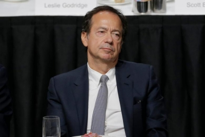 Bloomberg: Ο John Paulson θα συμμετάσχει στην αύξηση μετοχικού κεφαλαίου της Τράπεζας Πειραιώς