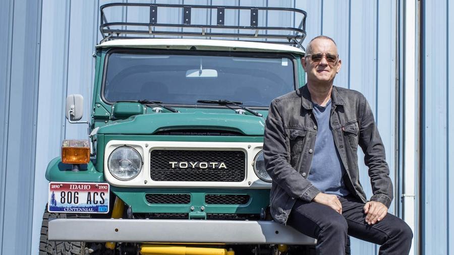 Πωλείται το Toyota Land Cruiser του Tom Hanks