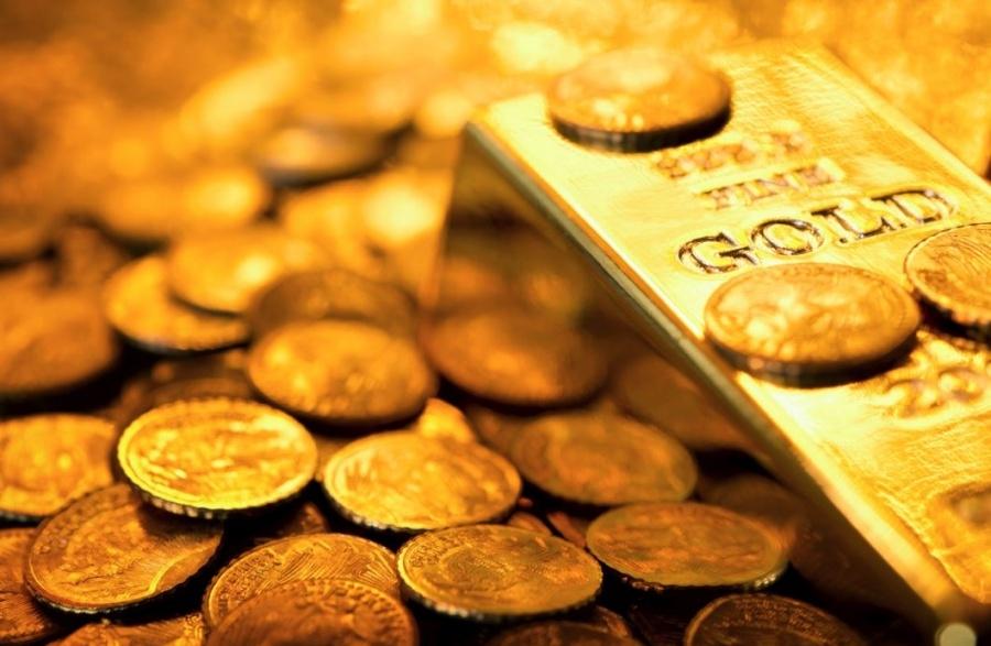 Πτώση -1,4% για τον χρυσό, στα 1.825,10 δολ. ανά ουγγιά