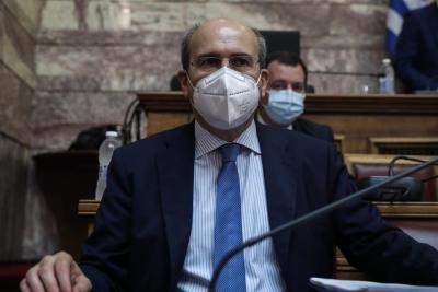 Χατζηδάκης: Θα γίνουν τα αποκαλυπτήρια της αραχνιασμένης αντιπολίτευσης του ΣΥΡΙΖΑ