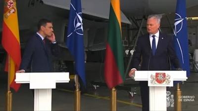 ΝΑΤΟ: Επεισοδιακή συνέντευξη Τύπου με συναγερμό για αναχαίτιση ρωσικού αεροσκάφους - Έφυγαν άρον άρον