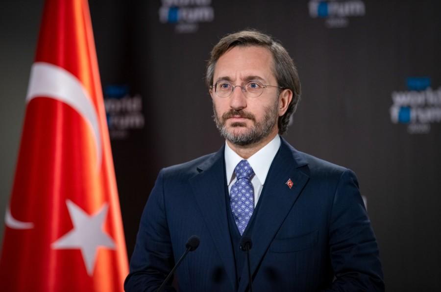 Altun (Διευθυντής Προεδρικών Επικοινωνιών ): Συνεργασία ΕΕ - Τουρκίας για την καταπολέμηση του μίσους