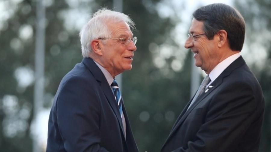 Borrell: Η ΕΕ πρέπει να είναι παρούσα στην άτυπη συνάντηση της Γενεύης για το Κυπριακό