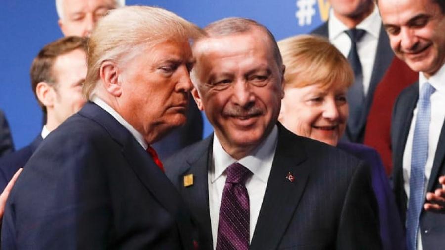 Στήριξη Trump σε Erdogan: Η Τουρκία είναι πολύ καλή στο να τιμά την ασφάλεια στα Βαλκάνια