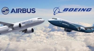 H Βρετανία αναμένει ότι η εμπορική διαμάχη μεταξύ Airbus - Boeing θα επιλυθεί τον Ιούλιο