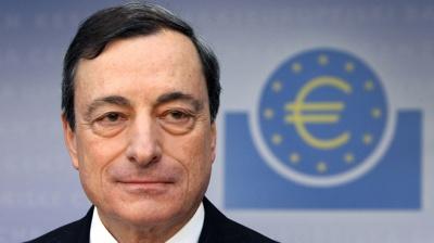 Draghi: Σε θετική πορεία το τραπεζικό σύστημα της Ευρώπης, αλλά οι κίνδυνοι παραμένουν
