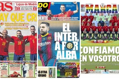 Αλλά λόγια να αγαπιόμαστε στις ισπανικές εφημερίδες για την Εθνική ομάδα!