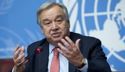 Guterres (ΟΗΕ): Να διπλασιαστεί η παραγωγή εμβολίων κατά της covid για να μοιραστούν δικαιότερα
