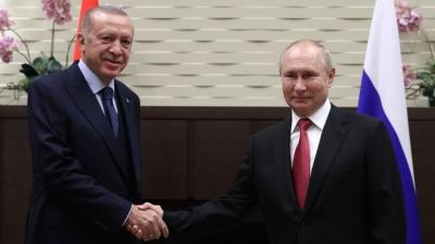 Πιο κοντά στον Putin ο Erdogan - Προχωράμε με S - 400 - Συμφωνία για μαχητικά, υποβρύχια και... δύο ακόμα πυρηνικά εργοστάσια