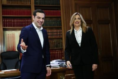 «Πόλεμος» ΣΥΡΙΖΑ - ΚΙΝΑΛ για την Κεντροαριστερά και ασφυκτικό πρέσινγκ στο δρόμο προς τις εκλογές