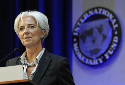 Lagarde (ΔΝΤ): Οι διακυμάνσεις στις παγκόσμιες αγορές δεν μας ανησυχούν - Υπάρχει επάρκεια χρηματοδότησης