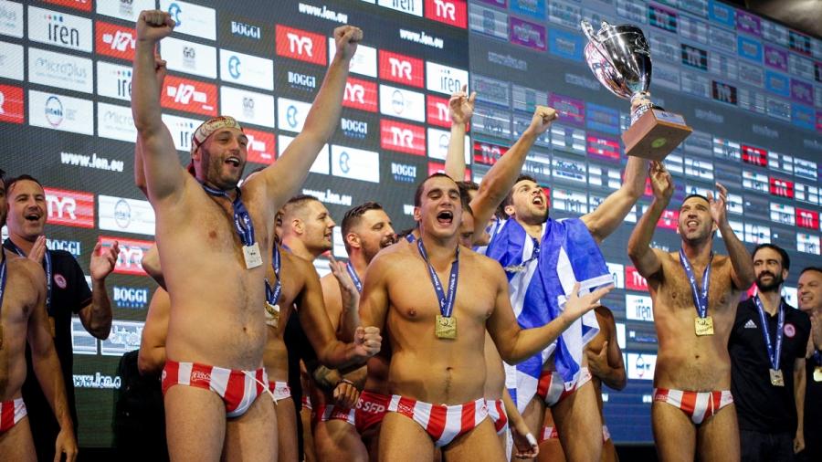 Πόλο: Βατή κλήρωση για τον Ολυμπιακό στο Champions League – στόχος ο τίτλος για τους Πειραιώτες!