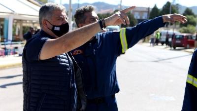 Πατούλης από Αλεποχώρι: Η ευθύνη για τη δημιουργία αντιπυρικών ζωνών ανήκει στο Δασαρχείο