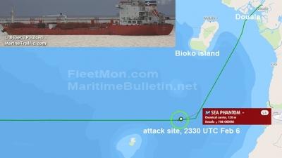 Επίθεση πειρατών σε πλοία ελληνικών συμφερόντων