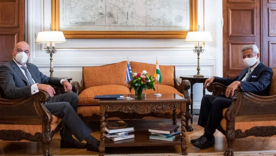 Συνάντηση Δένδια με τον υπουργό Εξωτερικών της Ινδίας – Τι βρίσκεται στο επίκεντρο