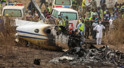 Συνετρίβη στρατιωτικό αεροσκάφος στη Νιγηρία