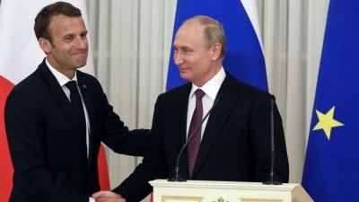 Putin και Macron υπέρ της επιστροφής των προσφύγων και της διατήρησης των χριστιανικών εκκλησιών στο Nagorno Karabakh