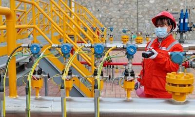 Κίνα: Ετήσια αύξηση 11,3% κατέγραψε η παραγωγή φυσικού αερίου τον Αύγουστο του 2021