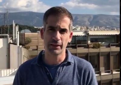 Κ. Μπακογιάννης: Η Αθήνα έχει κάτι το μαγικό και είναι γεμάτη εκπλήξεις - Ευχή και κατάρα το Airbnb