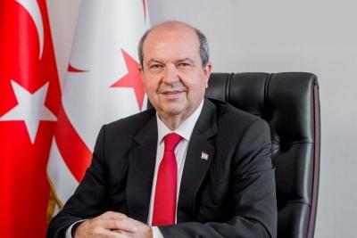 Tatar: Μόνο με αναγνώριση του Ψευδοκράτους μία βιώσιμη λύση στο Κυπριακό