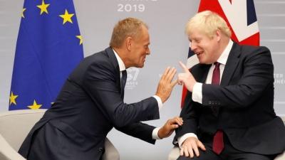 Τελεσίγραφο Johnson σε Tusk: Η Βρετανία θα αποχωρήσει οριστικά από την ΕΕ στις 31 Οκτωβρίου