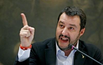 Salvini για τα περί παραίτησης Tria: Οι εφημερίδες έχουν... φαντασία